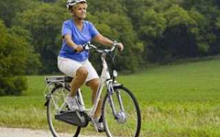 Посадка велосипедиста