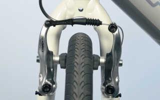 Регулировка тормозов v brake на велосипеде