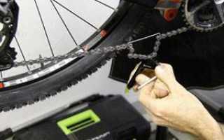 Как сделать цепь на скоростном велосипеде