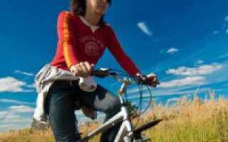 Похудеть с помощью велосипеда
