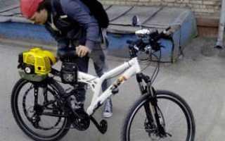 Двигатель велосипедный