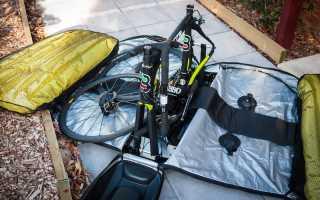 Чехлы для велосипедов без снятия колес