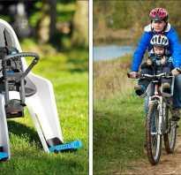 Сиденье для ребенка на велосипед