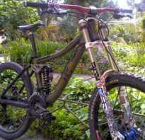 Велосипед с двумя амортизаторами