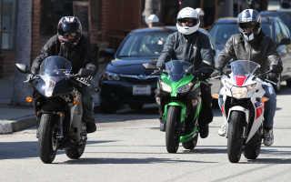 Спортивный мотоцикл для начинающих