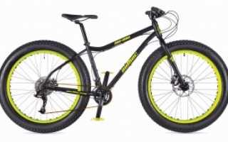 Велосипед на широких колесах