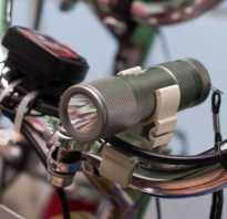 Фонарь на велосипед