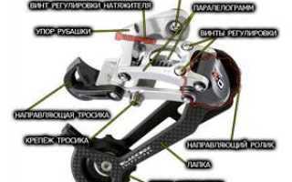 Настройка задних скоростей на велосипеде