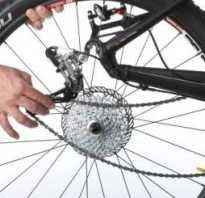 Установка заднего колеса велосипеда
