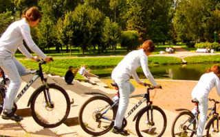 Как делать трюки на велосипеде