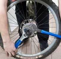 Как снять звезду с велосипеда