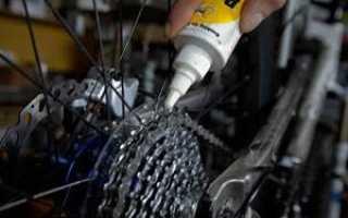 Чем смазывать вилку велосипеда