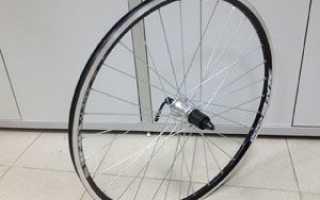 Как снять колесо с велосипеда