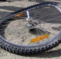 Как убрать восьмерку на велосипеде