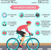 Катание на велосипеде калории