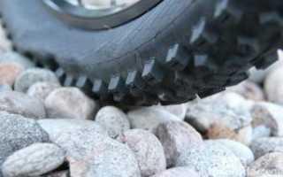 Давление в шинах велосипеда таблица