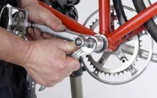 Люфт каретки велосипеда