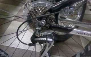 Регулировка скоростей на велосипеде