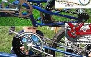 Слетает цепь на велосипеде что делать