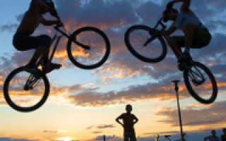 Как научиться прыгать на велосипеде