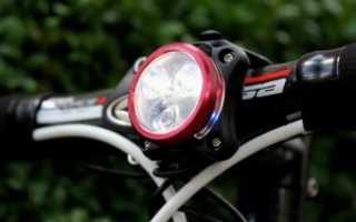 Крепление для фонарика на велосипед
