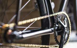 Как подтянуть цепь на велосипеде