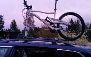 Велобагажник на крышу своими руками