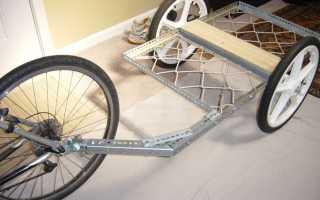 Тележка для велосипеда своими руками