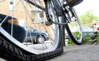 Как накачать велосипедное колесо