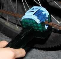 Чем лучше смазать цепь велосипеда