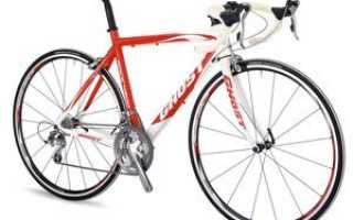 Размер рамы шоссейного велосипеда