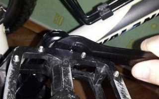 Как заменить педали на велосипеде