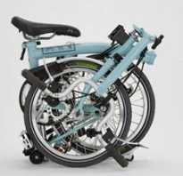 Взрослый складной велосипед