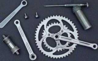 Система шатунов велосипеда