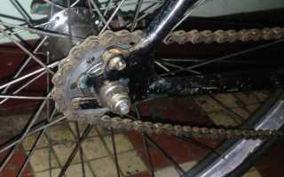 Износ велосипедной цепи