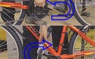 Ключ для педалей велосипеда