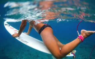 Доска для катания по воде за катером