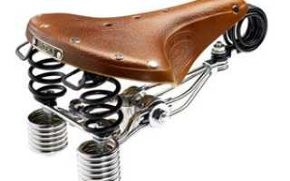 Регулировка седла велосипеда