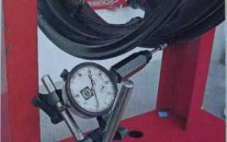 Как убрать восьмерку на колесе мотоцикла