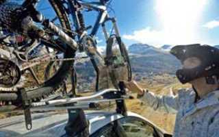 Велобагажник для автомобиля