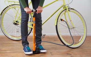 Сколько давление в шинах велосипеда