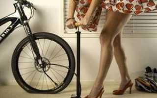 На сколько накачивать колёса велосипеда