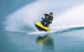 Как управлять водным мотоциклом