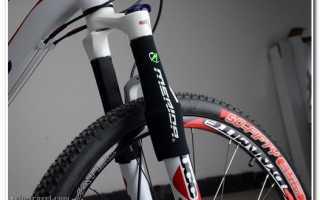 Жесткая вилка для велосипеда