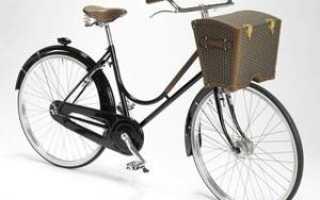 Как установить багажник на велосипед