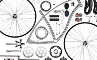 Строение колеса велосипеда