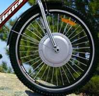 Велосипед с моторколесом
