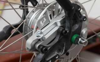 Роллерные тормоза для велосипеда