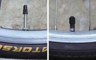 Как накачать велосипедный ниппель