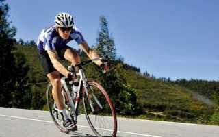 Средняя скорость на велосипеде по городу